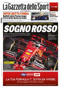 La Gazzetta dello Sport Sicilia – 15 marzo 2019