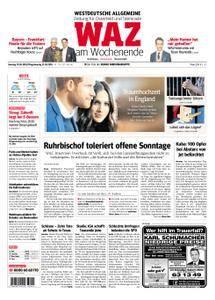WAZ Westdeutsche Allgemeine Zeitung Oberhausen-Sterkrade - 19. Mai 2018