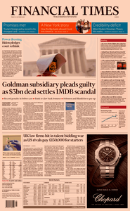 Financial Times Europe – 23 October 2020