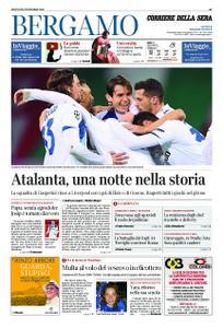 Corriere della Sera Bergamo – 26 novembre 2020