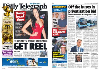 The Daily Telegraph (Sydney) – October 25, 2019