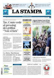 La Stampa Torino Provincia e Canavese - 27 Luglio 2018