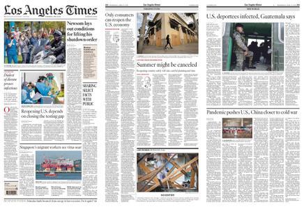 Los Angeles Times – April 15, 2020