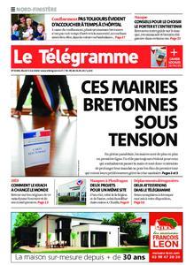 Le Télégramme Brest Abers Iroise – 05 mai 2020