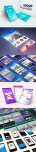 Screens App Presentation PSD Mockups Templates