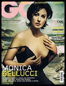 Monica Bellucci: Italian GQ - November 2006 & Helmut Newton 'Bluemarine' Photoshoot