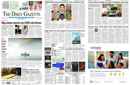 The Daily Gazette – November 03, 2018