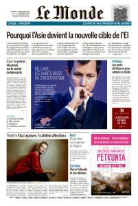 Le Monde du Dimanche 28 et Lundi 29 Avril 2019