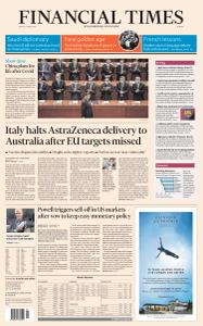 Financial Times Europe - March 5, 2021