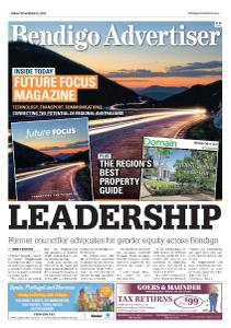 Bendigo Advertiser - November 15, 2019