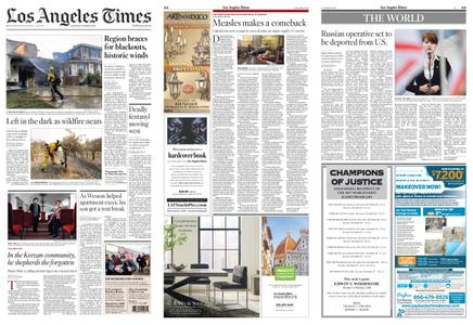 Los Angeles Times – October 26, 2019