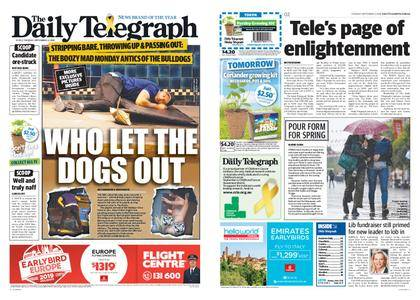 The Daily Telegraph (Sydney) – September 04, 2018