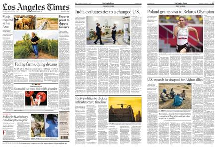 Los Angeles Times – August 03, 2021