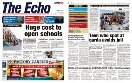 Evening Echo – June 25, 2020