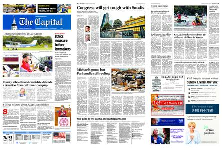 The Capital – October 15, 2018