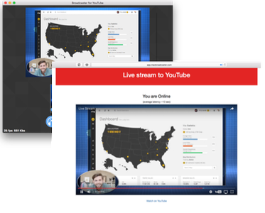JustBroadcaster for YouTube 1.6.7