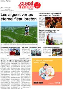 Ouest-France Édition France – 05 août 2019