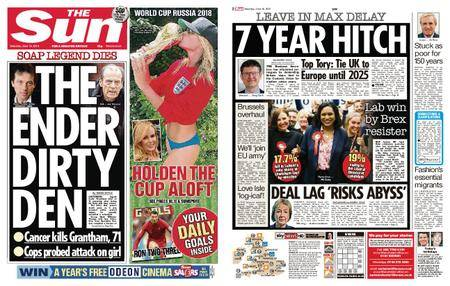 The Sun UK – 16 June 2018