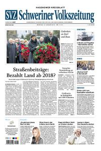 Schweriner Volkszeitung Hagenower Kreisblatt - 14. Januar 2019