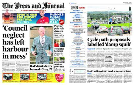 The Press and Journal Moray – August 31, 2018