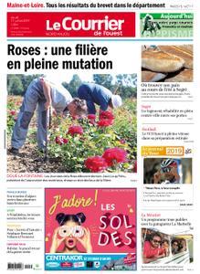 Le Courrier de l'Ouest Nord Anjou – 11 juillet 2019