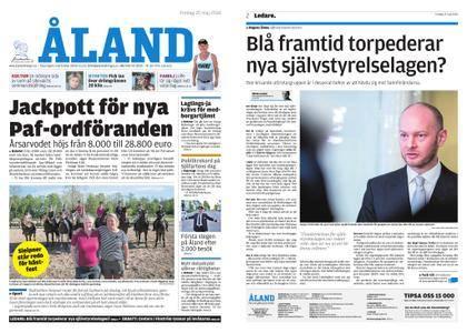 Ålandstidningen – 25 maj 2018