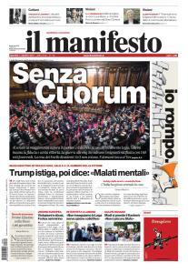 il Manifesto - 6 Agosto 2019
