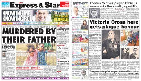 Express and Star City Edition – November 18, 2017