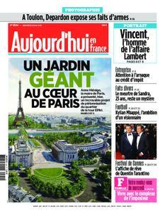 Aujourd'hui en France – 22 mai 2019