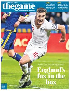 The Times - The Game - 18 November 2019