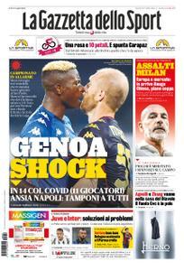 La Gazzetta dello Sport Roma – 29 settembre 2020