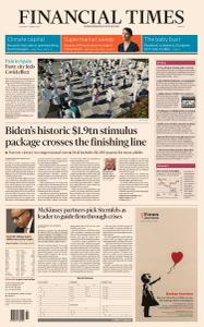 Financial Times Europe - March 11, 2021