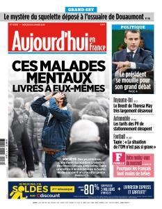 Aujourd'hui en France du Mercredi 16 Janvier 2019