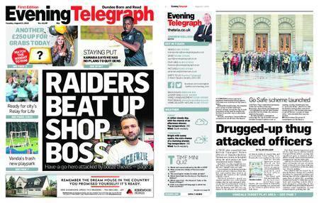 Evening Telegraph First Edition – August 21, 2018