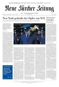 Neue Zürcher Zeitung International - 13 September 2021