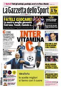 La Gazzetta dello Sport – 05 settembre 2018