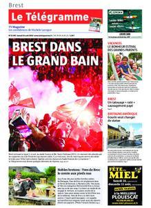 Le Télégramme Brest Abers Iroise – 10 août 2019