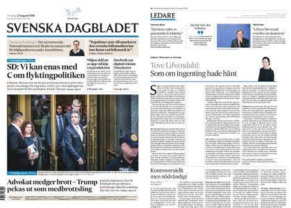 Svenska Dagbladet – 23 augusti 2018