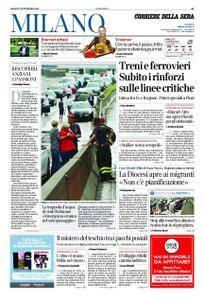Corriere della Sera Milano – 01 settembre 2018