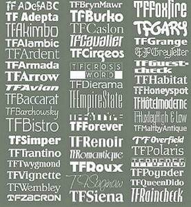 TreacyFaces Headliners Fonts