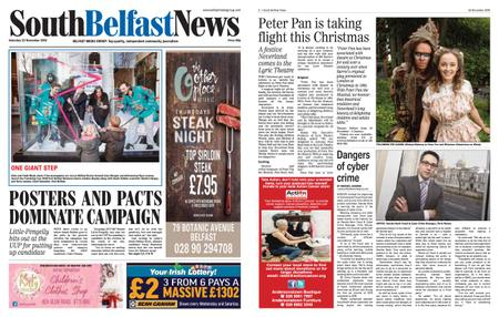 South Belfast News – November 21, 2019