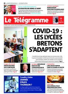 Le Télégramme Landerneau - Lesneven – 07 novembre 2020