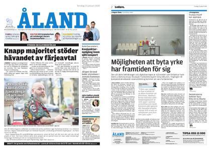 Ålandstidningen – 23 januari 2020