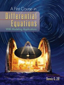 A First Course in Differential Equations (Repost)