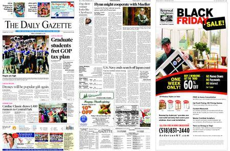 The Daily Gazette – November 24, 2017