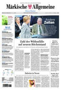 Märkische Allgemeine Dosse Kurier - 25. Oktober 2017