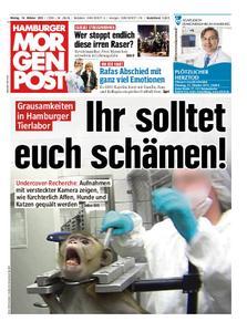 Hamburger Morgenpost – 14. Oktober 2019