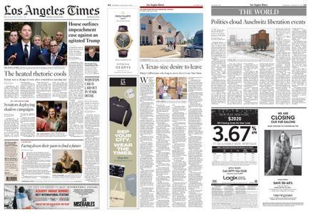 Los Angeles Times – January 23, 2020
