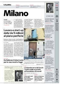 la Repubblica Milano - 5 Gennaio 2018