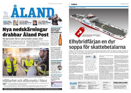 Ålandstidningen – 24 januari 2020